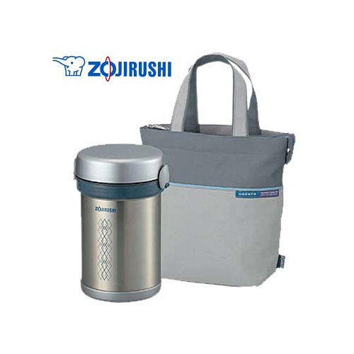 『ZOJIRUSHI』☆ 象印 不鏽鋼保溫便當盒 SL-NC09
