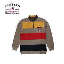 【FANTINO】男裝 休閒粗條紋POLO衫441342