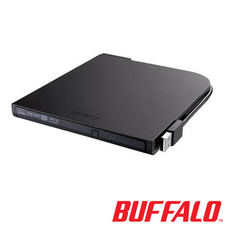 BUFFALO超薄型攜帶式藍光燒錄機BRXL-PT6U2VB