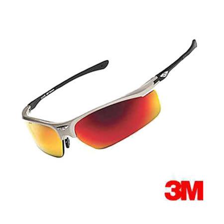 3M 耐衝擊運動眼鏡 (OSE1103T紅色)