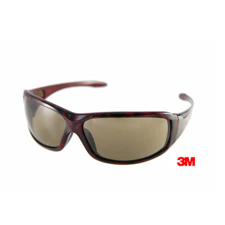 3M 經典寬版專業戶外運動眼鏡﹝Metal-2紅玳瑁﹞