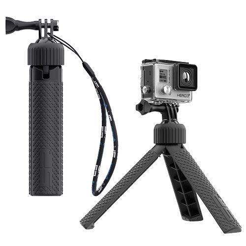 德國S導航機 行車記錄器P Gadgets設計GoPro專用 握把/三腳架【兩用】