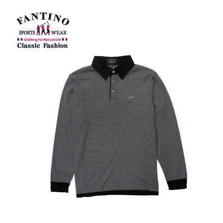【FANTINO】男裝 100%舒適羊毛polo衫  447307