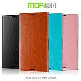 MOFI 莫凡 Sony T2 Ultra XM50h D5303 睿系列側翻皮套