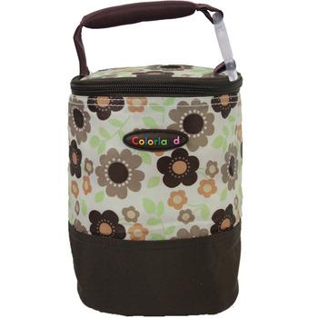 【Colorland】母乳保冷運輸袋副食品保溫袋(綠色小梅花)