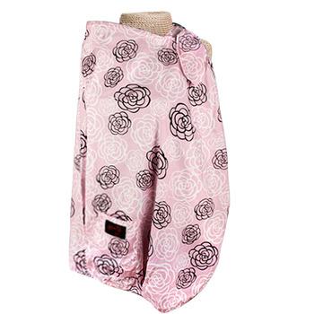 【真心勸敗】gohappy 線上快樂購【FONDANT BABY】哺乳遮蓋布披肩(粉色玫瑰)哪裡買台中 中 友 百貨
