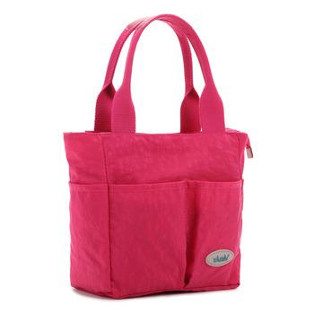 【YABIN】時尚媽媽包設計款小號媽咪包(枚紅色)