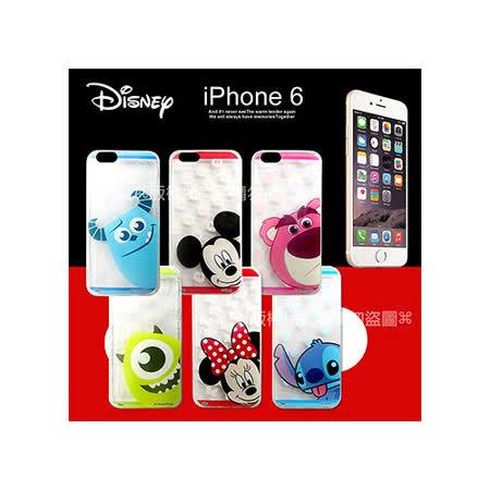 迪士尼授權正版 iPhone 6 4.7吋 大頭娃透明彩繪軟式保護殼 手機殼