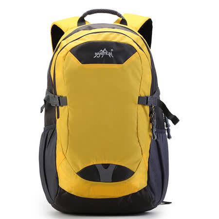 DF BAGSCHOOL - 新二代人體工學設計大容量後背包-淺黃