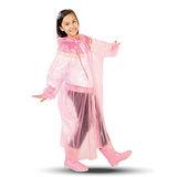 達新牌 環保PVC童彩型雨衣 一件入