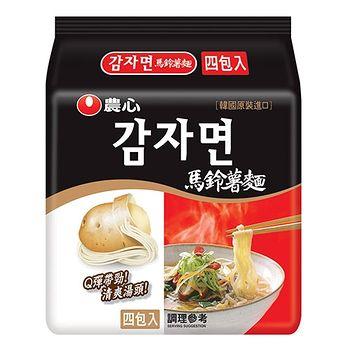 農心馬鈴薯麵100g*4