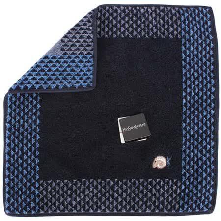 【部落客推薦】gohappy 線上快樂購YSL 新款三角圖紋羊年限定款方巾-深藍色評價好嗎遠 百 週年 慶 時間