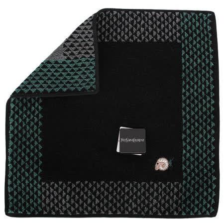 【開箱心得分享】gohappy快樂購YSL 新款三角圖紋羊年限定款方巾-黑色去哪買大 遠 百 活動