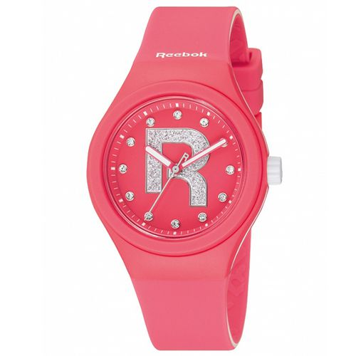 Reebok DROP RAD閃耀時尚腕錶-粉紅