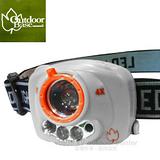 【Outdoorbase】鷹眼 感應式LED頭燈.CREE120 流明/ 21720 白色