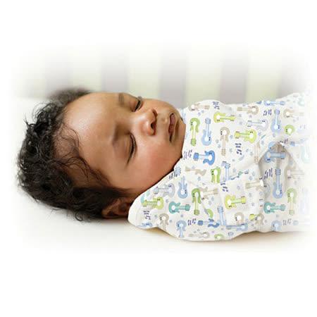 美國 Summer Infant SwaddleMe 懶人包巾薄款小號-搖滾吉他