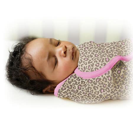 美國 Summer Infant SwaddleMe【純棉薄款 - 粉紅豹】, L號 - 可調式懶人包巾