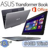 ASUS 華碩 Transformer Book 64GB Win8.1 (T100) 10.1吋 四核變形平板