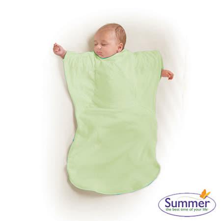 美國Summer Infant 小蝴蝶背心睡袋-粉綠草原