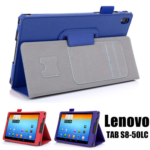 Lenovo 聯想 TAB S8-50 高質感平板電腦可手持皮套 保護套