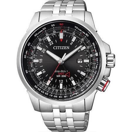 CITIZEN PROMASTER SKY系列的新一代型格機師錶-銀x黑