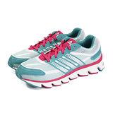 (大童)ADIDAS POWERBLAZE K 慢跑鞋 淺藍/螢光粉紅-C77803