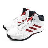 (男)ADIDAS ISOLATION 2 籃球鞋 白/紅/黑-S84176