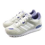 (女)ADIDAS ZX 700 W 休閒鞋 奶油/藍紫-M19413