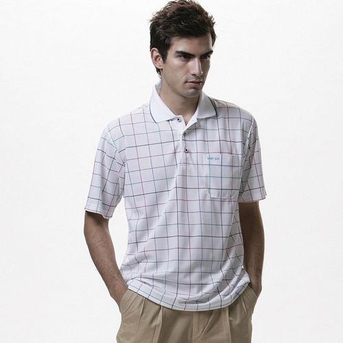 【SAIN SOU】MIT吸濕排汗短袖POLO衫(男款)T26140