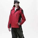 【SAIN SOU】防水/防風/透氣/可拆式防風帽兩件式外套(中性款)T27130