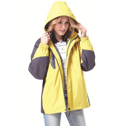 ~SAIN SOU~防水防風透氣保暖 可拆式防風帽兩件式外套 中性款 T27302
