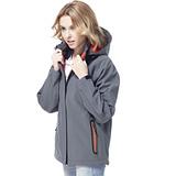 【SAIN SOU】保暖透氣+防水貼條+可拆式防風帽外套(中性款)T27312-15
