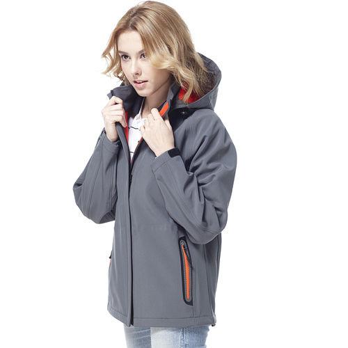 ~SAIN SOU~保暖透氣 防水貼條 可拆式防風帽外套 中性款 T27312~15