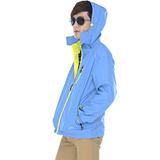 【SAIN SOU】防水/防風/透氣/可拆式防風帽外套(中性款)T27419