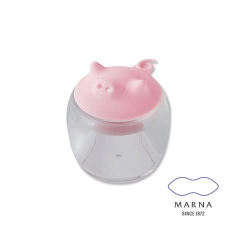任選_【MARNA】小豬造型調味罐50ml(粉)