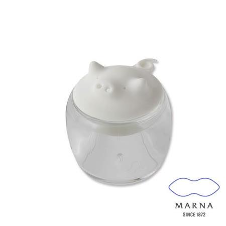 任選_【MARNA】小豬造型調味罐50ml(白)