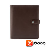 Booq Booqpad iPad 2 / The New iPad agenda 專用記事本型保護套(真皮棕-奶油)