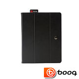 Booq iPad 2 / New iPad 專用 Folio 真皮典雅對開式保護套 (黑石)