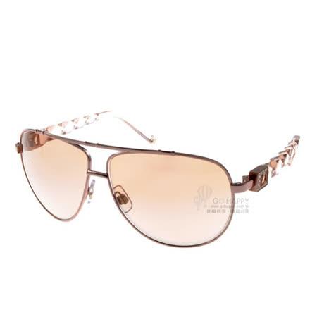 SWAROVSKI太陽眼鏡 奢華極品#水晶粉SW3 72F