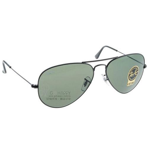 RAY BAN太陽眼鏡 ^(墨綠黑色^) RB3025 L2823