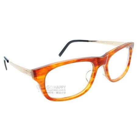 ByWP光學眼鏡 (琥珀橘-金色) #BYA11012 SBL