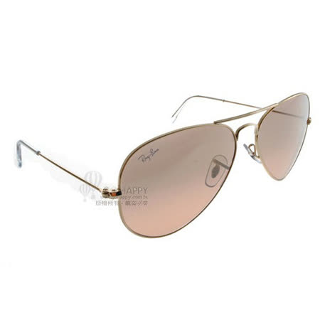 Ray Ban雷朋太陽眼鏡 (金-粉色)#RB3025 0013E-58mm正常版