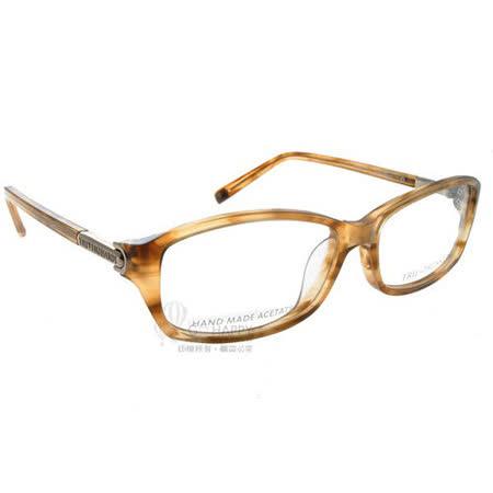 TRUSSARDI光學眼鏡 (淺棕色) #TR12504 LB