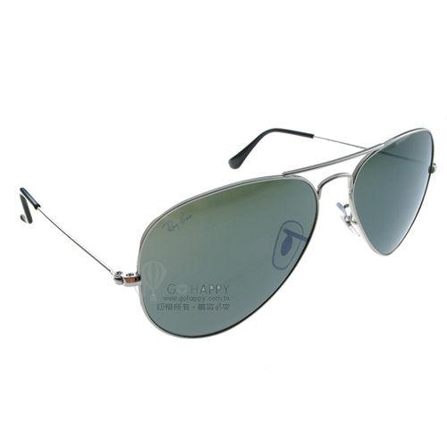 Ray Ban雷朋太陽眼鏡 (銀-水銀綠色) #RB3025 W3277-58mm