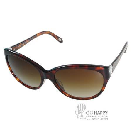 Tiffany&CO.太陽眼鏡 (琥珀色) #TF4065BA 80023B愛心水鑽款