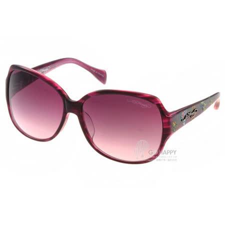 ED HARDY太陽眼鏡 (酒紅紫色) #EHA BUTTERFLIES2 PURPLE