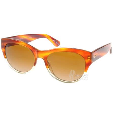 OLIVER PEOPLES太陽眼鏡 (橘棕色) #MANDE 12399P