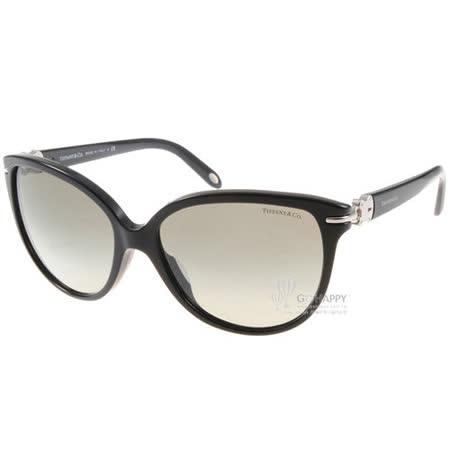 Tiffany&CO.太陽眼鏡 (黑色) #TF4064BA 80013C鎖頭款
