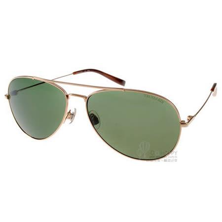 TRUSSARDI太陽眼鏡 (金-墨綠色) #TR12913G GD