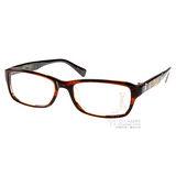 ED HARDY光學眼鏡 (咖啡色) #EHOT006 BROWN HORN
